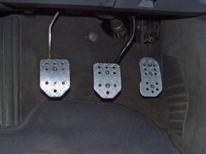 Nya pedalerna installerade